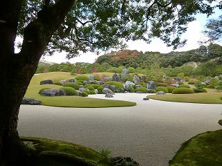 SHIMANEその7   日本一の 枯山水庭と♪_a0165160_16511019.jpg