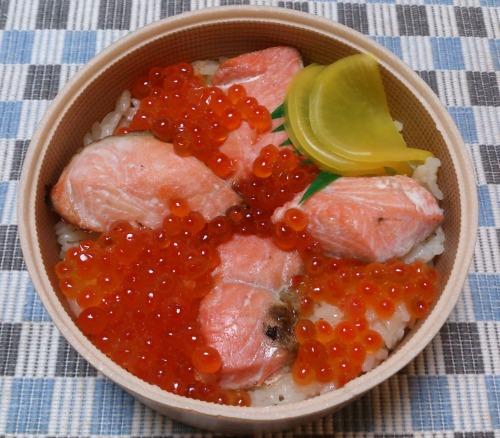 紅鮭はらこめし & かきめし_c0100865_15455993.jpg