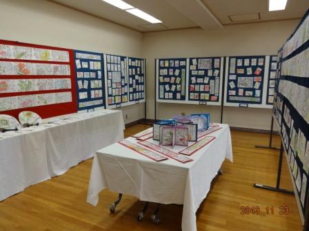 福祉センター 文化祭準備_a0220570_1534888.jpg