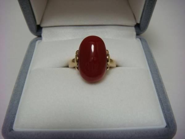 アンティーク 地赤珊瑚の指輪です。_a0167071_2226397.jpg
