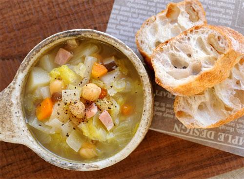 「パンとスープの写真」の画像検索結果