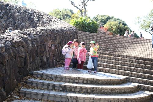 家族登園(ウォークラリー)_b0277979_13451592.jpg