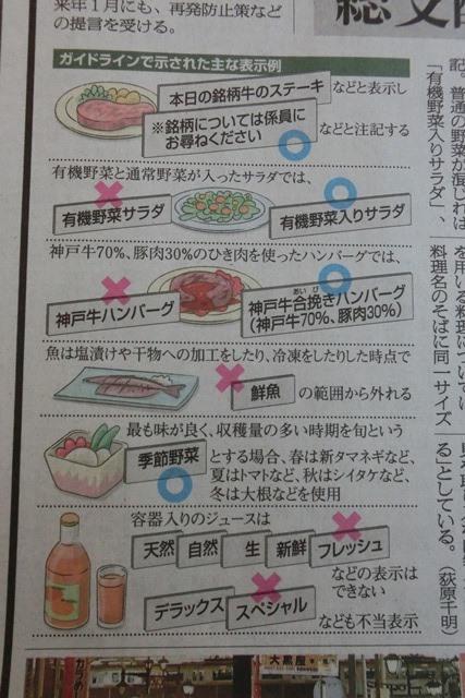 やってはいけない食品偽装これだけはやめて、なぜ食品偽装が起こる偽装をする、頑張れ橋下徹日本維新の会_d0181492_23343648.jpg