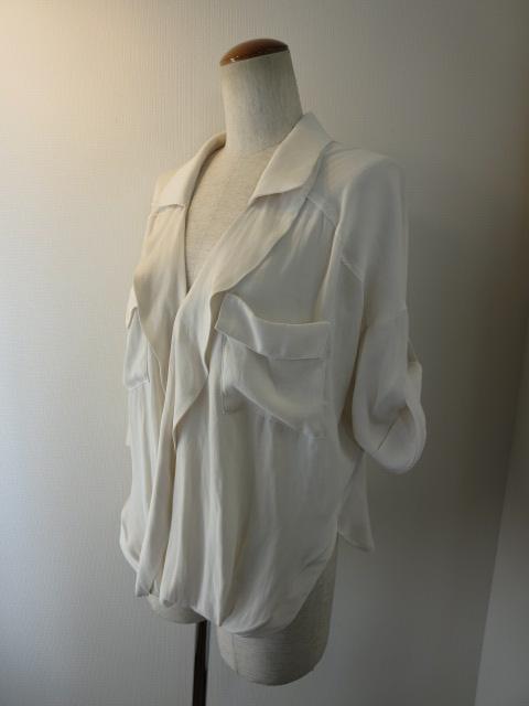 ボルニー BORNY カシュクールフリードシャツ_e0076692_19204032.jpg