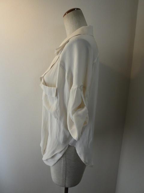 ボルニー BORNY カシュクールフリードシャツ_e0076692_19204877.jpg