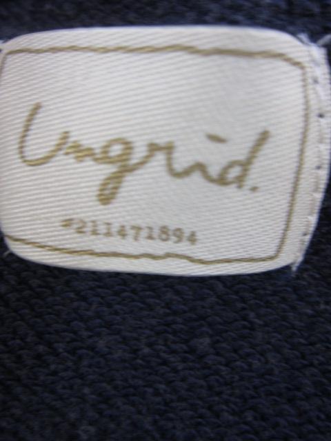 アングリッド UNGRID REDBRICKプリントスウェット_e0076692_19214452.jpg