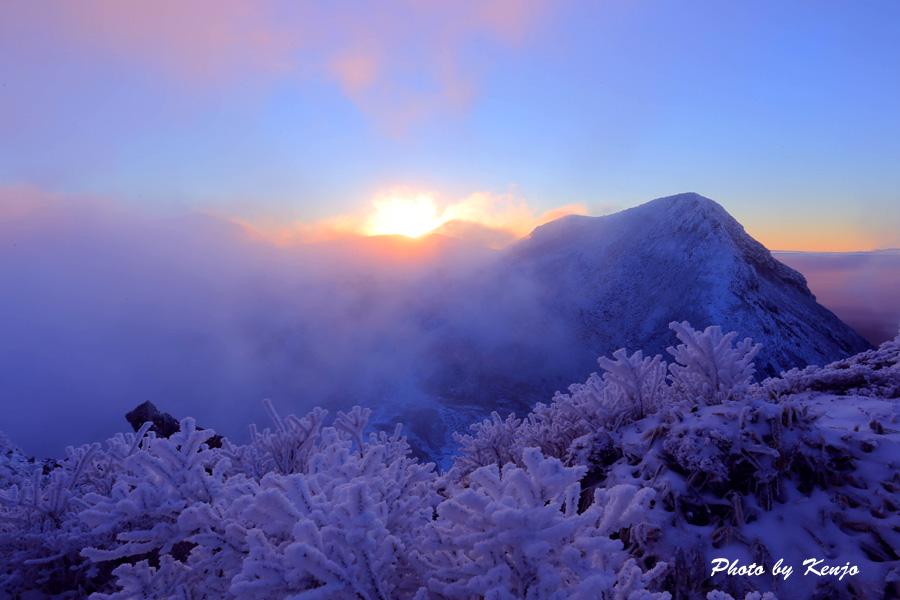 積雪の九重朝駆け_a0097006_23501310.jpg