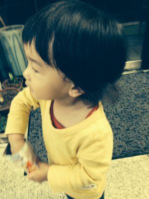 シオン2歳3ヶ月、みつき2ヶ月_e0253026_1362998.jpg