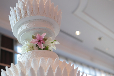 冬の装花 オータニ様へ ポインセチア プリンセチアとクリスタルスノー_a0042928_2129409.jpg