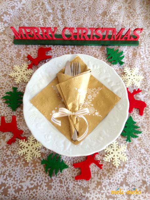 ◆クリスマス用ペーパーナプキンを入荷しました!_f0251032_12335185.jpg