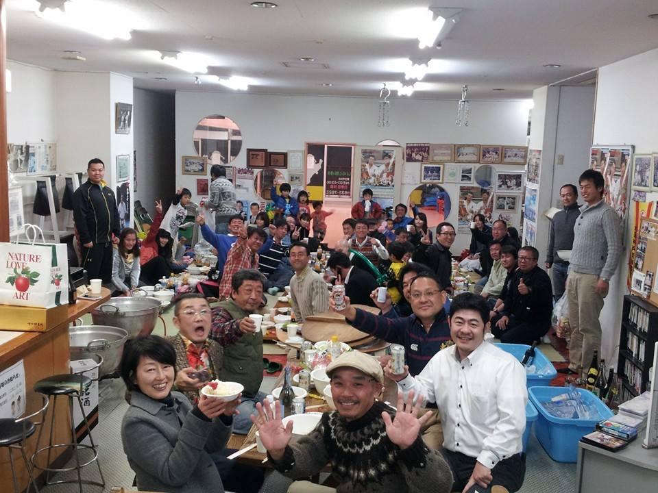 59回目の大山倍達総裁伝統の水炊き会!_c0186691_1543819.jpg