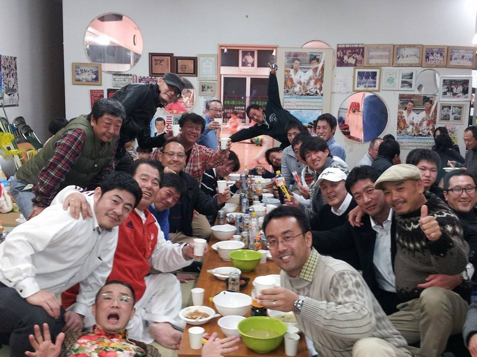 59回目の大山倍達総裁伝統の水炊き会!_c0186691_15538.jpg