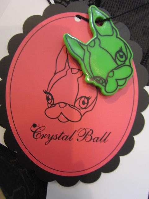 クリスタルボール Crystal Ball Colorful Peace Bags _e0076692_11405458.jpg