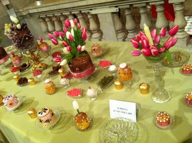 クリスマス菓子 パネットーネのイベント♡ Una Mole di Panettoni_b0246303_22053496.jpg