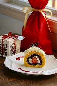 クリスマスロールケーキ_c0146921_215923.jpg