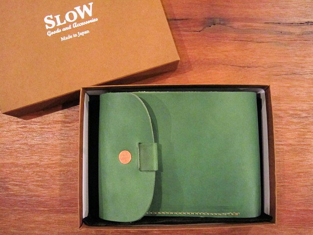 "SLOW ""toscana~flap hold wallet\"" ご紹介_f0191324_1122247.jpg"
