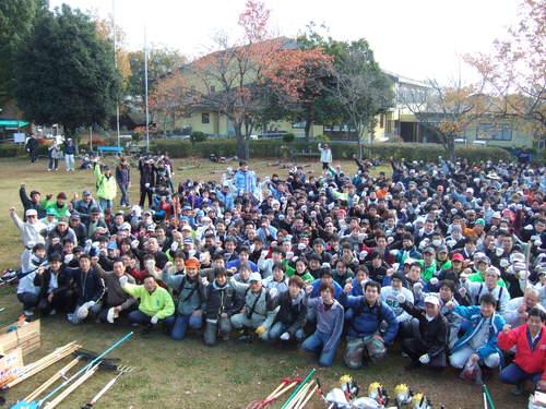 11月30日 秋吉台草刈りボランティア_c0104626_1147456.jpg