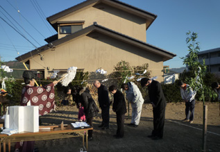 松本市岡田で住宅工事はじまります_e0180332_20555348.jpg