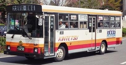 名阪近鉄バスのレインボー2題_e0030537_2357347.jpg