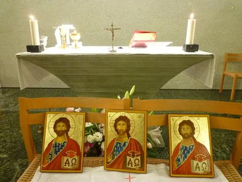 待降節 第1主日♡*† *祈り満ちた 日曜日@正イグナチオ教会マリア聖堂 イコンの祝別♡*† *・。・。+_a0053662_1936472.jpg
