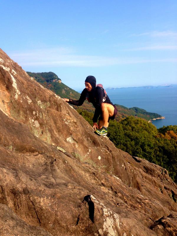 Mountain Running in  Shodoshima 小豆島 Day.2_b0220886_10584273.jpg
