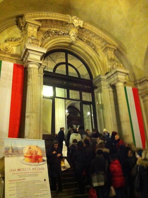 クリスマス菓子 パネットーネのイベント♡ Una Mole di Panettoni_b0246303_02472647.jpg