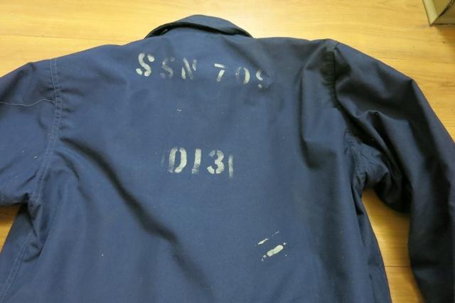アメリカ仕入れ情報#5 A-2デッキジャケット ネイビーカラー_c0144020_13182865.jpg