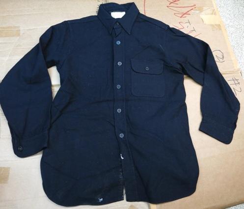 アメリカ仕入れ情報#6 WWⅡ ONE POCKET U.S NAVY C.P.Oシャツ!_c0144020_13284553.jpg