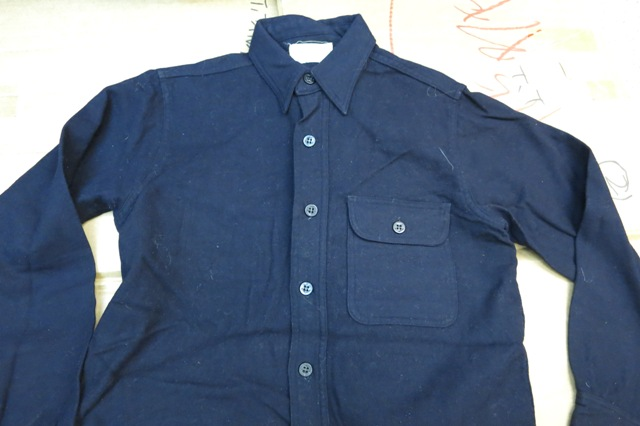 アメリカ仕入れ情報#6 WWⅡ ONE POCKET U.S NAVY C.P.Oシャツ!_c0144020_13291727.jpg