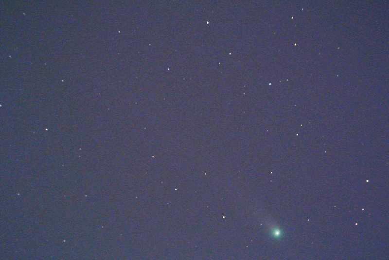 今朝のラブジョイ彗星、北斗七星、しし座&火星_e0089232_06165339.jpg