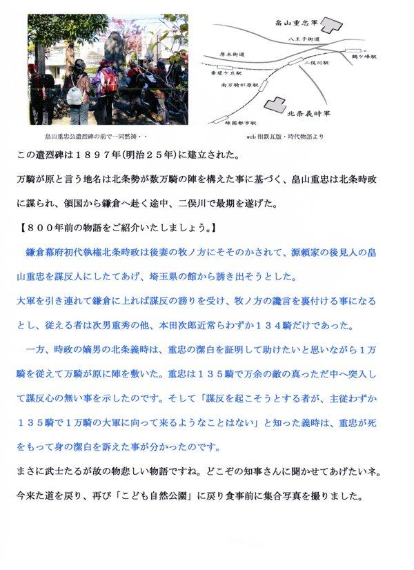 鎌倉街道中道ウォーク7回目の報告_a0215849_18184291.jpg