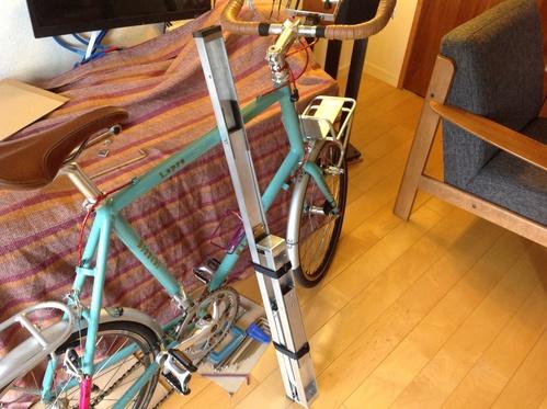 自転車の ビアンキ 自転車 画像 : 自転車ワークスタンド自作の ...