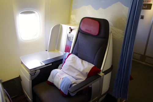 オーストリア航空ビジネスクラス_b0141474_2461445.jpg
