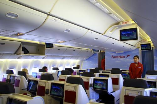 オーストリア航空ビジネスクラス_b0141474_646665.jpg