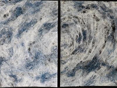 竹紙と摺り漆のモダニティ・龍神村からの二人展_a0131787_1259055.jpg