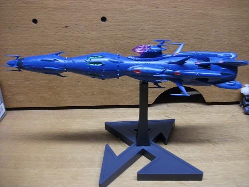 1/1000 独立戦闘指揮艦 デウスーラⅡ世・コアシップ_f0205396_22575796.jpg