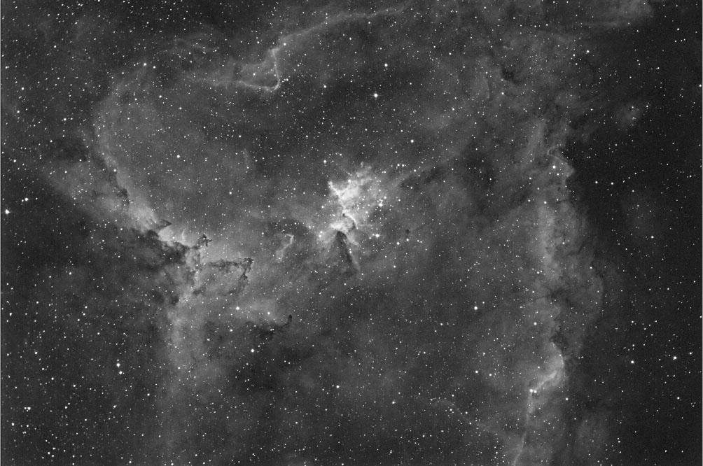 久しぶりに撮ったハート星雲 Heart Nebula, IC1805@桑名_c0061727_18274913.jpg