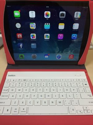 BelkinのiPad Air用?Bluetooth Keyboardを購入。_b0028732_2103168.jpg