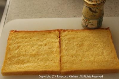 かぼちゃの角食で、にんじんとチーズのサンドイッチ!_a0165538_9455351.jpg