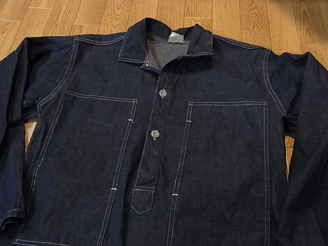 アメリカ仕入れ情報#14 1938年 U.S ARMY DENIM PULLOVER SHIRTS_c0144020_13454417.jpg