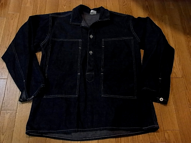 アメリカ仕入れ情報#14 1938年 U.S ARMY DENIM PULLOVER SHIRTS_c0144020_13454742.jpg