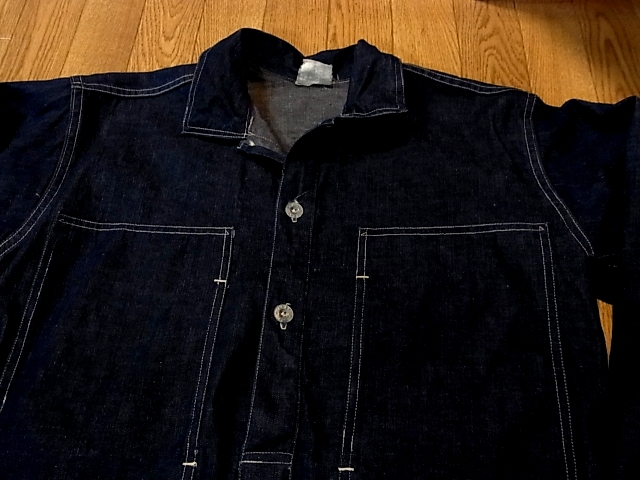 アメリカ仕入れ情報#14 1938年 U.S ARMY DENIM PULLOVER SHIRTS_c0144020_1346227.jpg