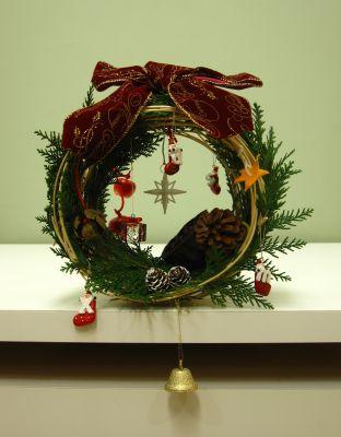クリスマスリース_c0165824_2263355.jpg