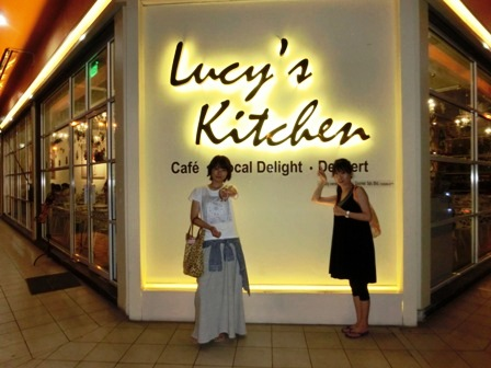 Lucy\'s Kitchenのマンゴーパンケーキ_a0132757_18242257.jpg