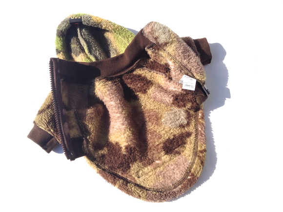 seven seas dog camo jacket  セブンシーズドッグ カモ ジャケット ブラウン_d0217958_18553214.jpg