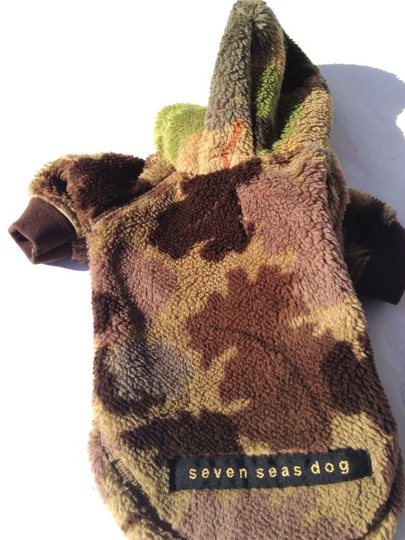 seven seas dog camo jacket  セブンシーズドッグ カモ ジャケット ブラウン_d0217958_18554724.jpg