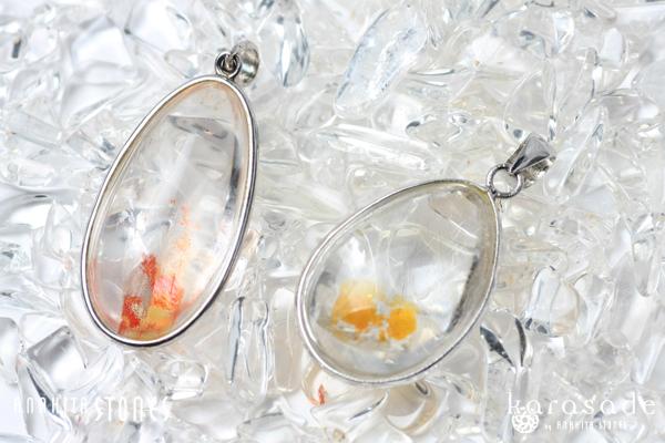 ヒマラヤ水晶ペンダント(インド産)_d0303974_18192873.jpg