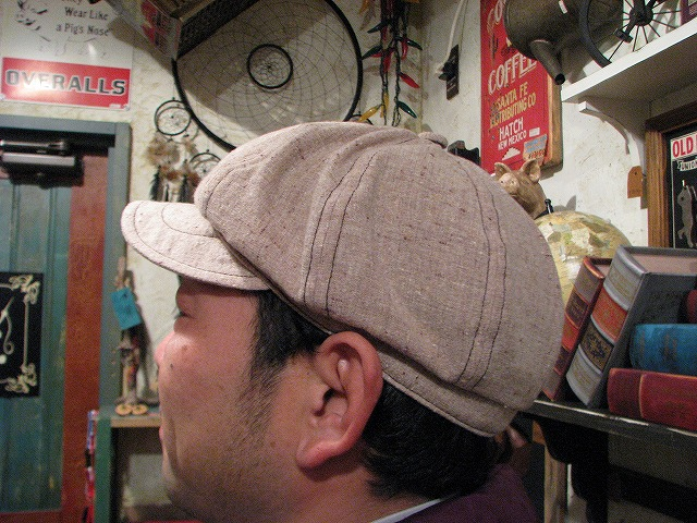 ◆ NEWSBOY CAP ◆_c0078202_1402585.jpg