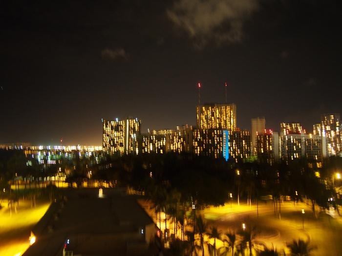 2013 10月 ハワイ(33)  ヒルトンの花火_f0062122_835991.jpg