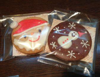 限定♪クリスマスクッキー、サンタ&スノーマン♪(^O^)_c0069047_2121953.jpg